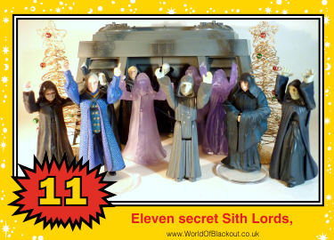 Eleven secret Sith Lords,