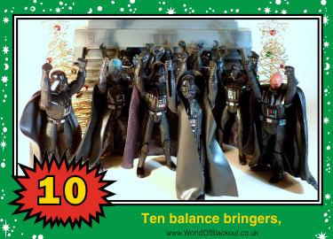 Ten balance bringers,