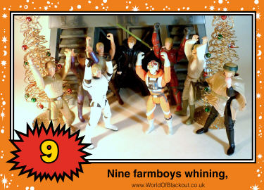 Nine farmboys whining ,