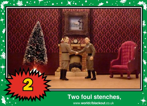 On the third Wookiee Life Day, the Dark Side gave to me: Two foul stenches...