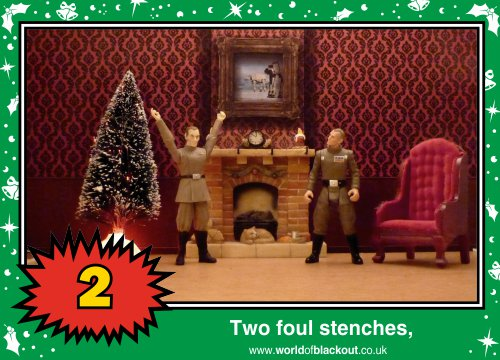 On the sixth Wookiee Life Day, the Dark Side gave to me: Two foul stenches...