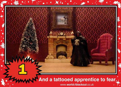 On the eighth Wookiee Life Day, the Dark Side gave to me: A tattooed apprentice to fear...