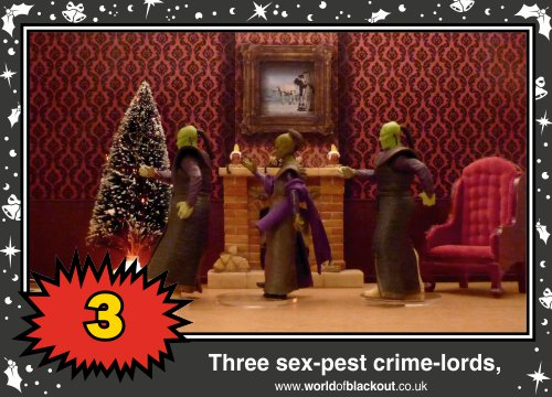 On the tenth Wookiee Life Day, the Dark Side gave to me: Three sex-pest crime-lords...