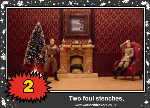 On the eleventh Wookiee Life Day, the Dark Side gave to me: Two foul stenches...