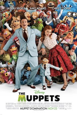 The Muppets 2011/2012 poster