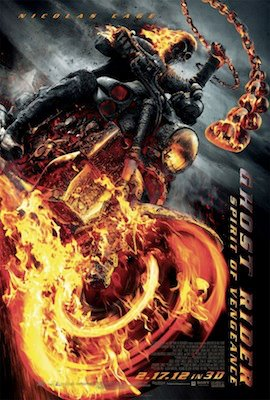 Ghost Rider: Spirit of Vengeance (3D) poster