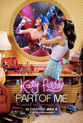 Katy Perry: Part of Me (3D) poster