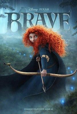 Brave (3D) poster