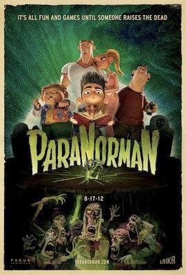 Paranorman 3D poster
