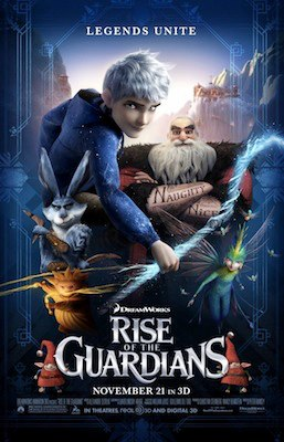 Rise of the Guardians 3D poster