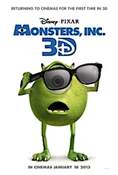 Monsters Inc. (3D) Poster
