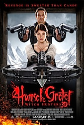 Hansel & Gretel: Witch Hunters (3D) Poster