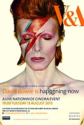 David Bowie Is Happening Now Poster