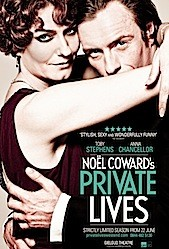 West End Theatre Series: Noël Coward's Private Lives Poster