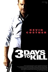 3 Days To Kill Poster