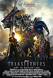 Transformers: Age Of Extinction (3D) Poster