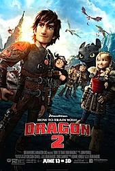 How To Train Your Dragon 2 (3D) Poster