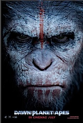 Dawn Of The Planet Of The Apes (3D) Poster