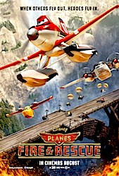 Planes 2: Fire And Rescue (3D) Poster
