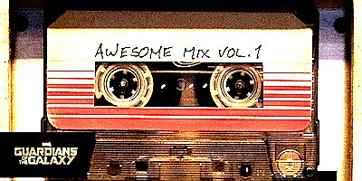 Guardians Of The Galaxy Soundtrack Awesome Mix Vol 1: in the correct order.