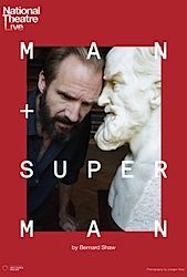 Man and Superman Poster