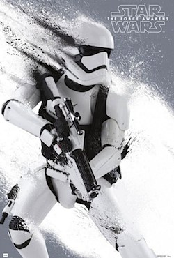 Star Wars: The Force Awakens Stormtrooper Poster