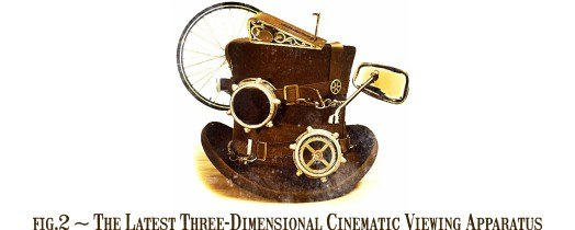 Fig.2 The Latest Three-Dimensional Cinematic Viewing Apparatus.