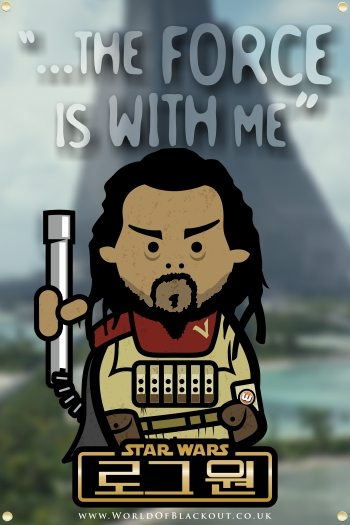 Rogue One: A Star Wars Story poster - Baze Malbus