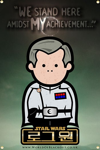 Rogue One: A Star Wars Story poster - Orson Krennic