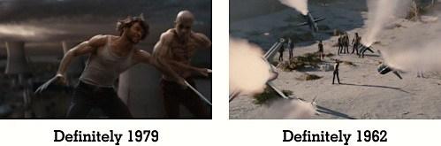 Origins: Wolverine / First Class - also largely fine.