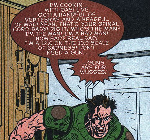 Doom: I'm glad this panel has so many words, because I have none...