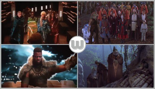 Black Panther / The Phantom Menace - A prelude to war…