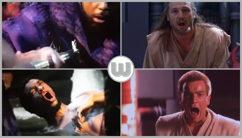 Black Panther / The Phantom Menace - Death Of The Mentor…