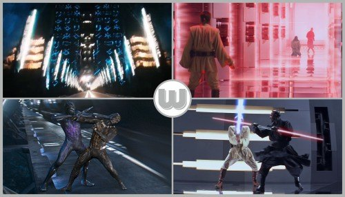 Black Panther / The Phantom Menace - …and Blade-to-blade.