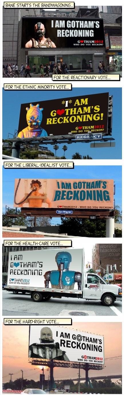 Gotham's Bandwagoning