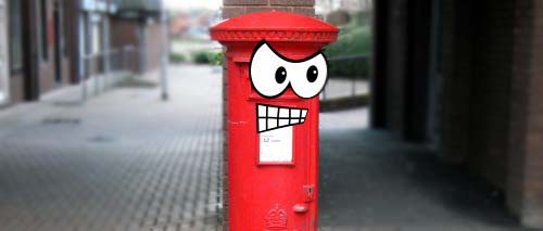 …going postal.