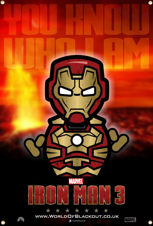 Skittlez / Iron Man 3 - Iron Man - You Know Who I Am…