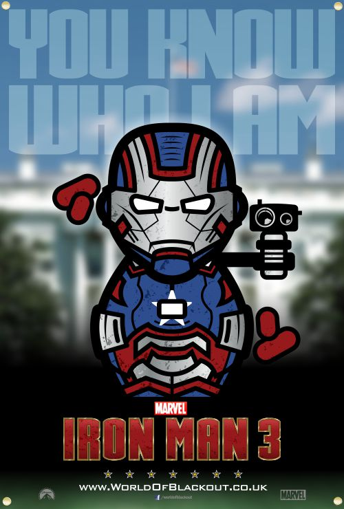 Skittlez / Iron Man 3 - Iron Patriot - You Know Who I Am…