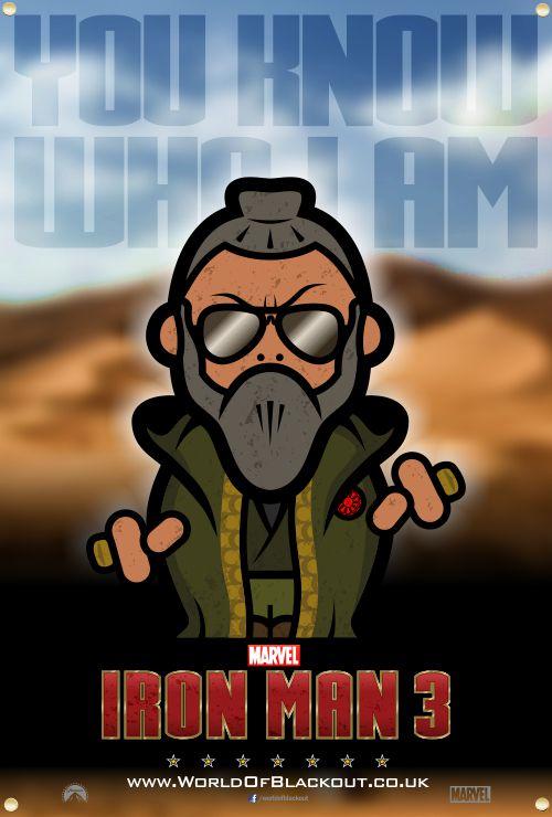 Skittlez/Iron Man 3 - The Mandarin - You Know Who I Am…