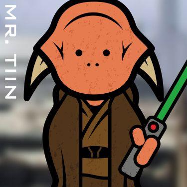 Mr. Saesee Tiin. A Jedi.