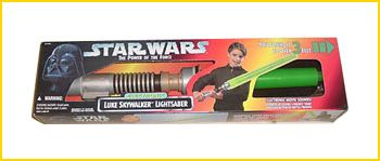 The 'Power of the Force' Lightsaber from Hasbro.