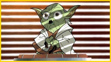 Yoda in Genndy Tartakovsky's Clone Wars