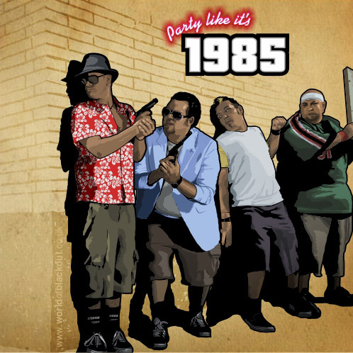 Bowling for Soup: Party Like it's 1985 / GTA