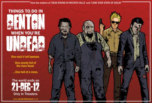 Bowling for Soup: Things To Do In Denton When You're Undead, movie one-sheet.