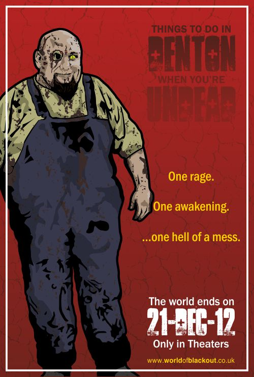 Bowling for Soup: Things To Do In Denton When You're Undead, Chris character-sheet poster.