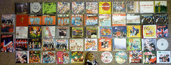 Bowling for Soup CDs. Click for bigger.
