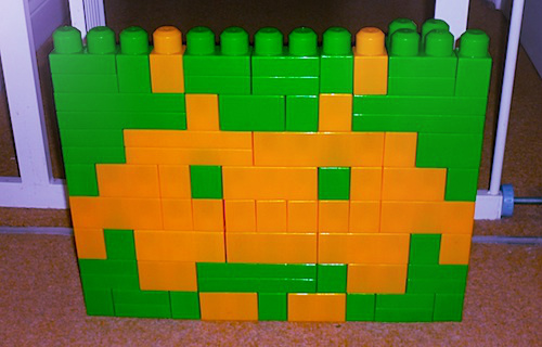 Space Invaders (1) in Megabloks