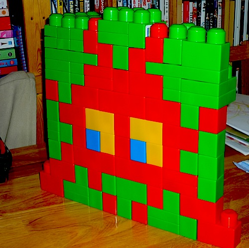 Space Invaders (3) in Megabloks