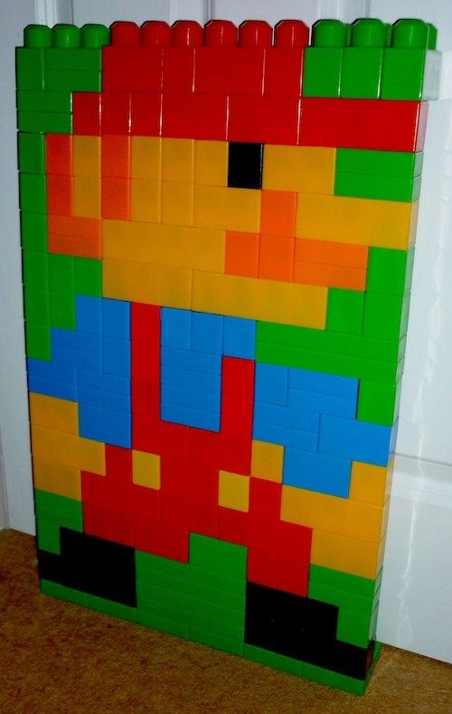 Mario in Megabloks