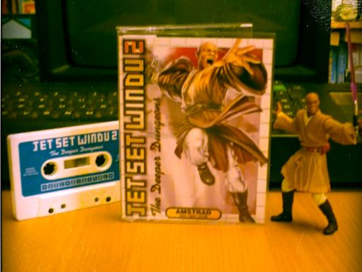Jet Set Windu 2: On old-school Cassette for the Amstrad CPC464!